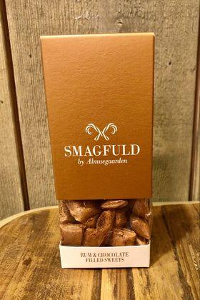 Smagfuld fylte drops Rum & chocolate