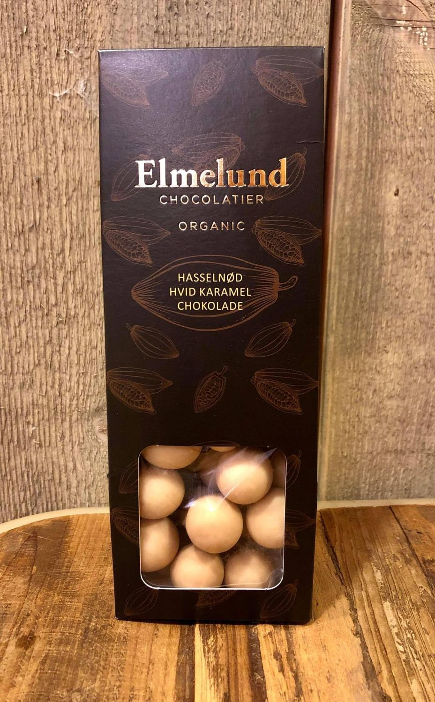 Økologisk sjokolade hvit sjokolade karamell