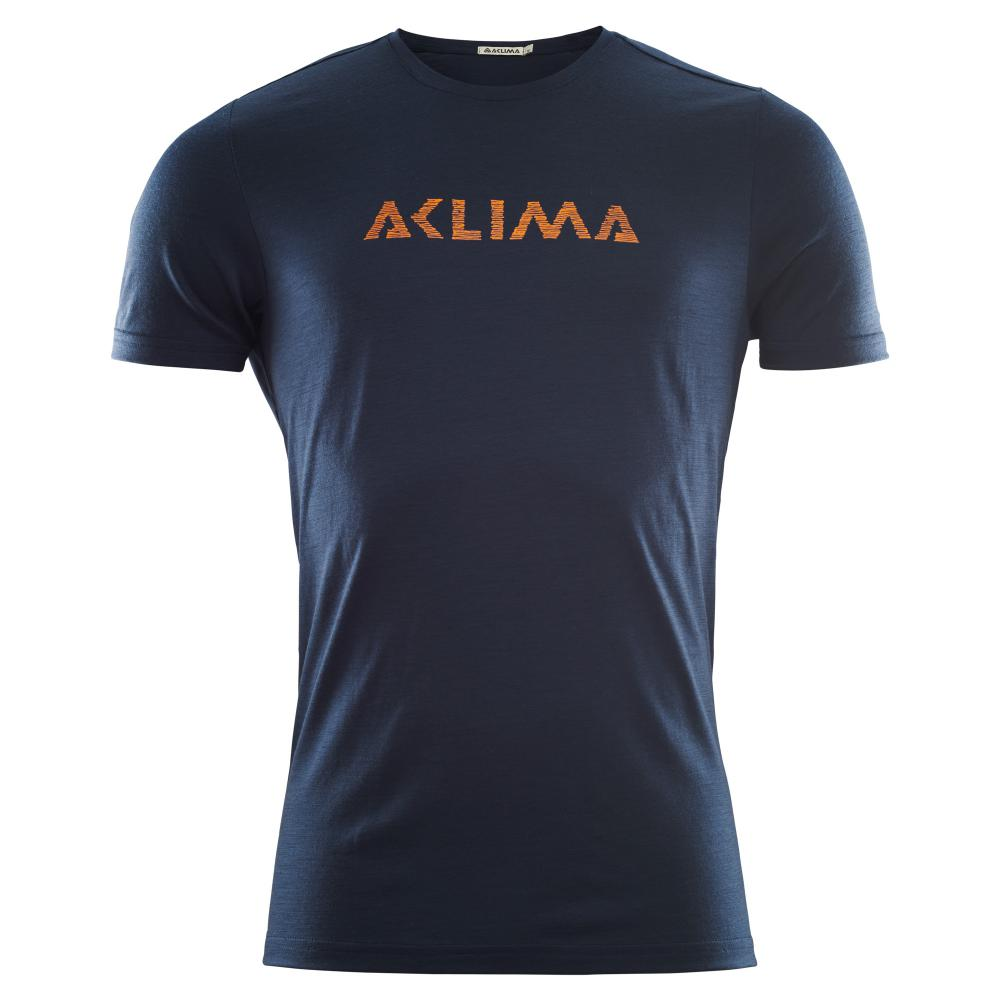 Aclima  LightWool T-shirt LOGO, Man