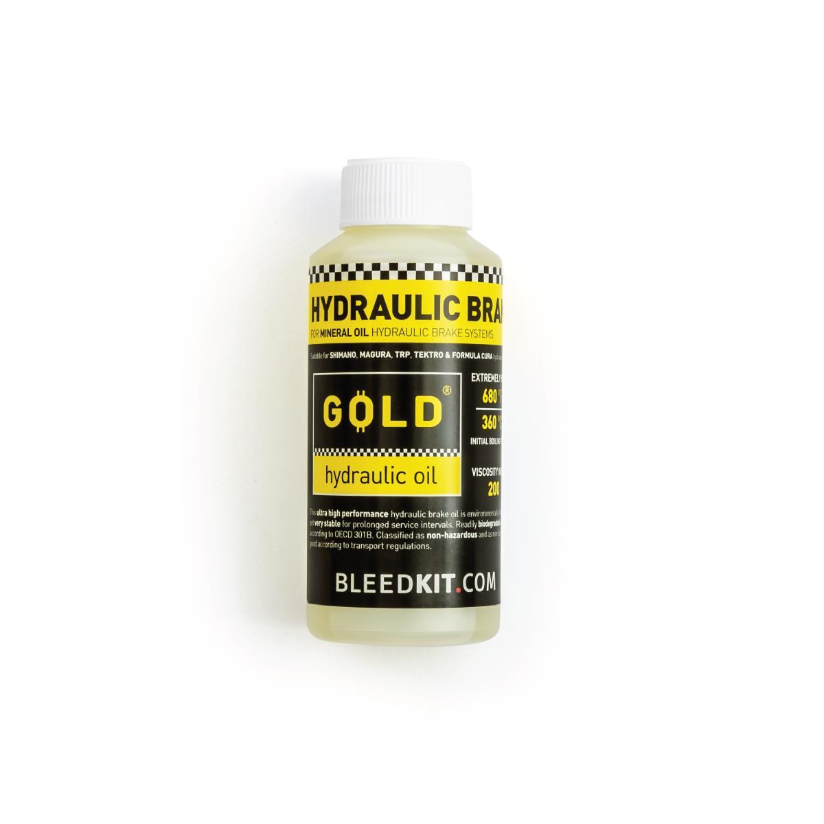 Blledkit GOLD Bremseolje 100ml Mineralolje