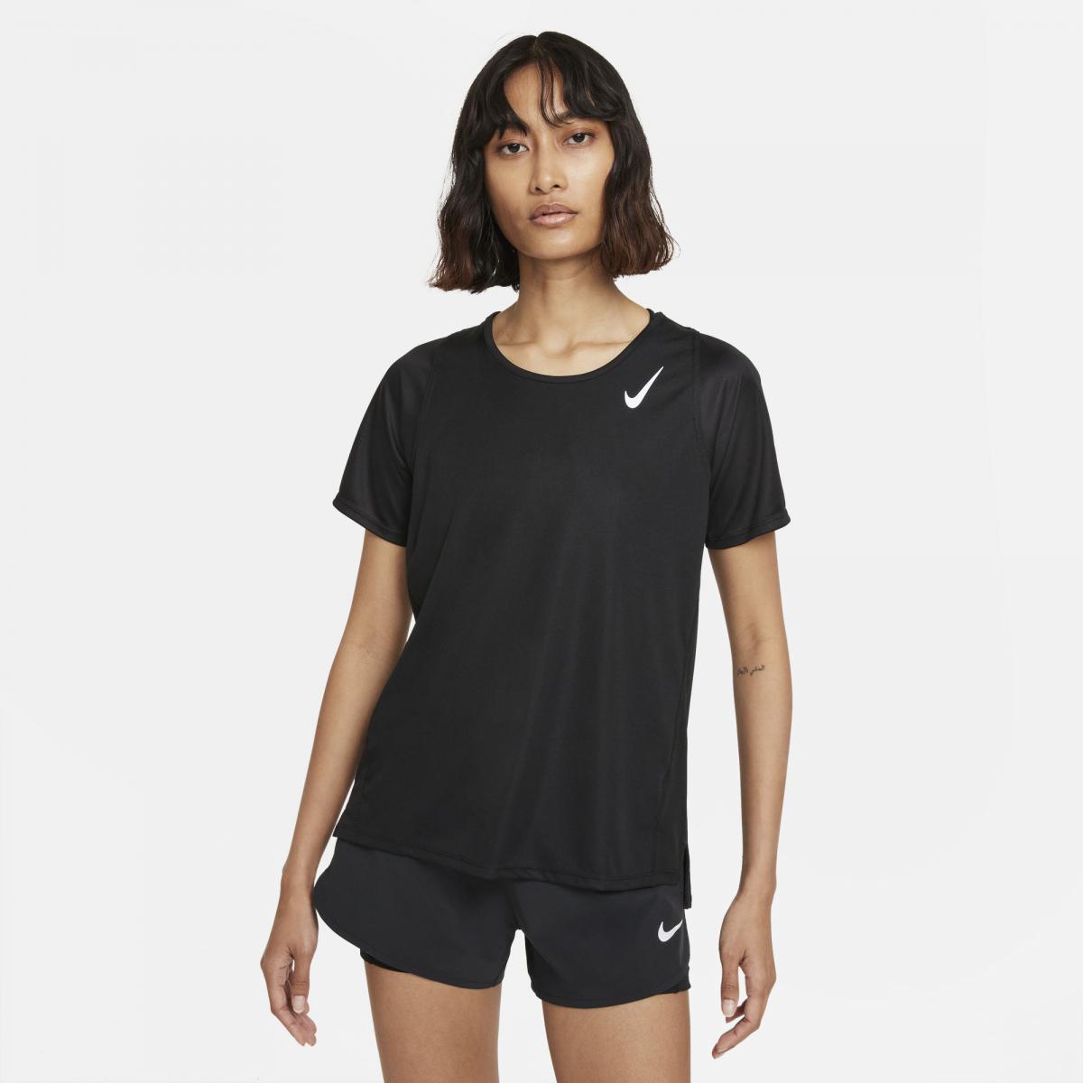 Nike  W Nk Df Race Top Ss