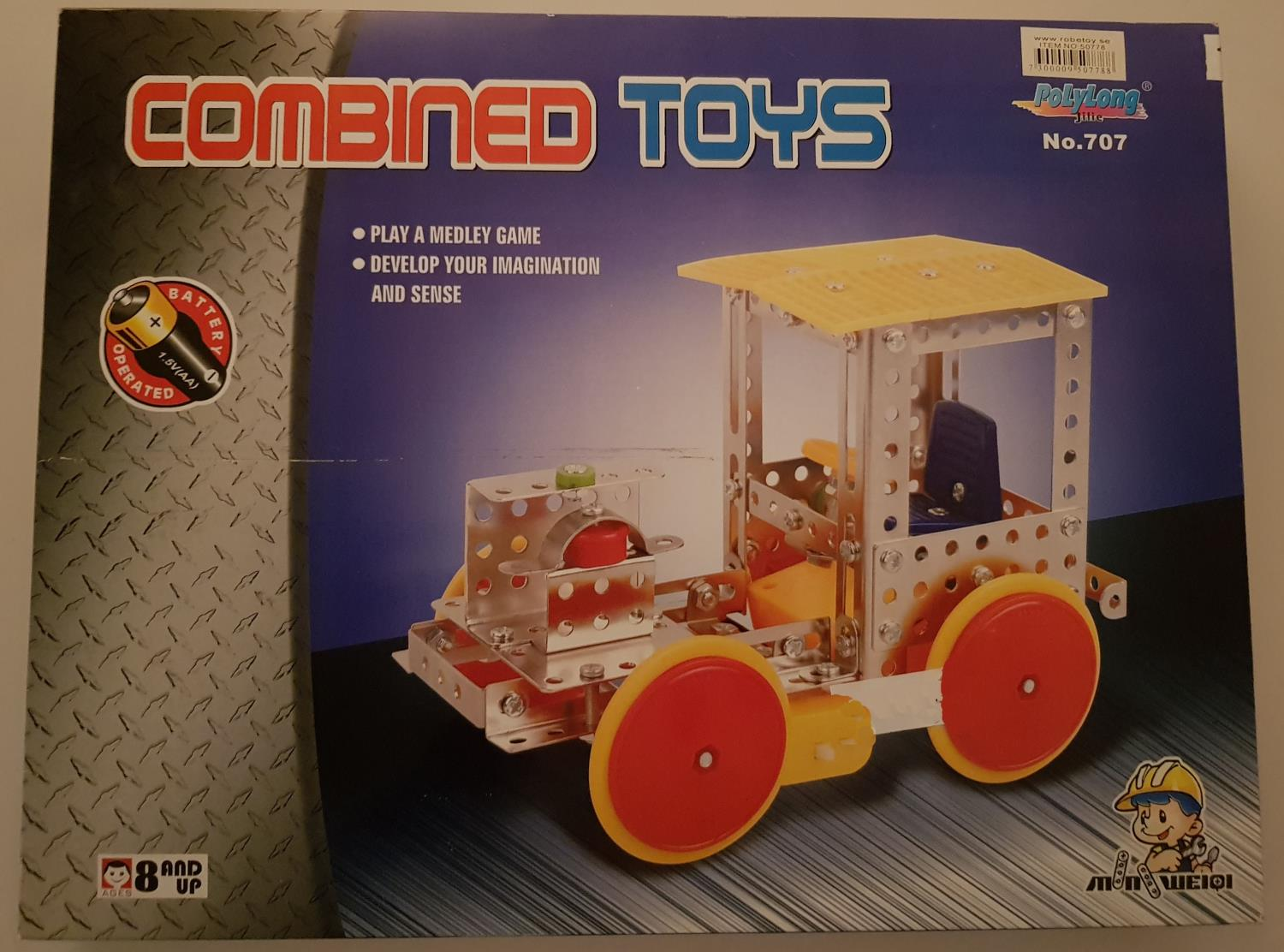 Combined toys