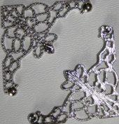 Hjørne sølv mellomstort