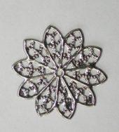 Blomst sølv st