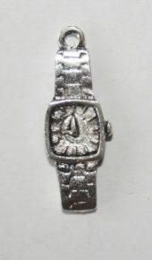 sølv klokke armbåndsur