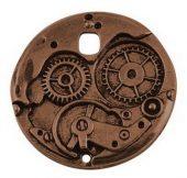 steampunk gear kobber