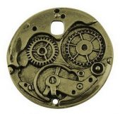 Steampunk Gear bronse