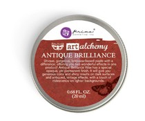 Finnabair Art Alchemy Antique Brilliance Wax Fire Ruby