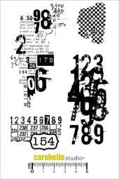 Texture avec des chiffres