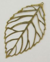 Stort blad bronse