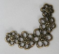 Hjørne bronse bl