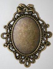 Stor ramme bronse