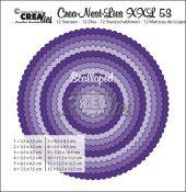 Rund scallop CLNestXXL53