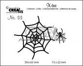 Ederkopp og spindelvev CLXtra33