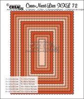 Rektangel med scallop CLNestXXL72