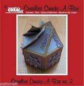 Crealies CREATE A BOX Die Set No.2