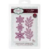 Finishing Touches-Pinwheel Floral