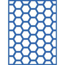"Hexagon 3""X4"""