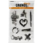 Studio Light Grunge 2.0 Collection A5 Stamp