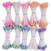 Heartfelt Creations Pearl Stamens Small 10/Pkg Pastel