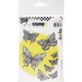 flight of butterflies