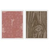 Bricked & Woodgrain By Tim Holtz