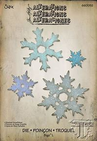 Stacked Snowflakes