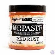 Finnabair Art Extravagence Rust Effect Paste 8.45oz Red rust