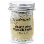 Shabby Green embossing enamel