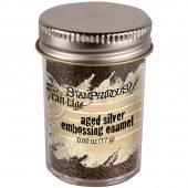 Aged Silver embossing enamel