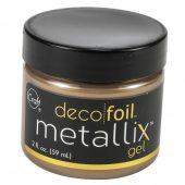 Deco Foil Metallix Gel 2oz Pure gold