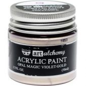 Finnabair Art Alchemy Opal Magic Acrylic Paint Opal Magic Violet/Gold