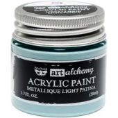 Finnabair Art Alchemy Acrylic Paint Metallique Light Patina