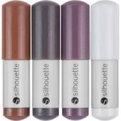 Silhouette Sketch Pens 4/Pkg Natural: Brown, Dark Brown, Gray, White