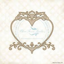 Royal Heart frame
