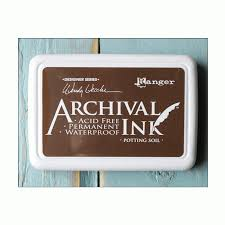 Archival ink-Potting Soil