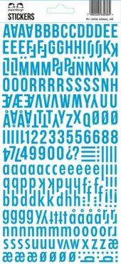 Stickers lys blå - Papirdesign