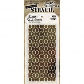 Tim Holtz Layered Stencil -Mesh - THS 041