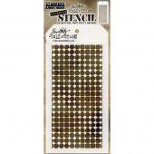Tim Holtz Layered Stencil -Grid Dot - Grid Dot