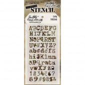 Tim Holtz Layered Stencil - Typo - THS 040
