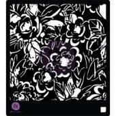 """Prima Designer Stencil 6""""X6"""" - Magnolias"""