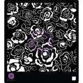 """Prima Designer Stencil 6""""X6"""" - Fading Floral"""