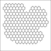 "Crafter's Workshop Template 12""X12"" - Chicken Wire"
