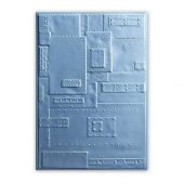 Sizzix 3-D Embossing Folder - Rivets 662717