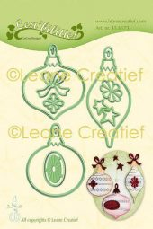 LeCrea - Lea'bilitie Christmas ornam. cut and embossing die