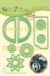 LeCrea - Lea'bilitie Gl. Foam Christm. ball wave cutting die