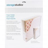 Storage Studios Paper Holder med Storage Studios Tabbed Dividers W/Labels 3/Pkg