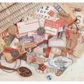 Vintage Emporium Ephemera Cardstock Die-Cuts 71/Pkg