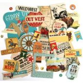 Cowboy Country - Carta Bella Cardstock Ephemera