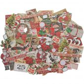 Snippets Tiny Die-Cuts/Christma - Idea-Ology Ephemera Pack